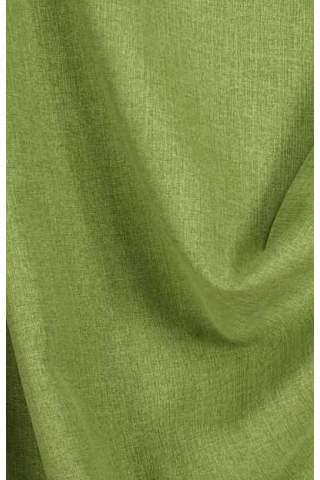 Lichte velours look groen
