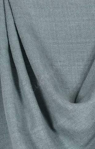 Velours linnen ijsblauw lichtgrijs