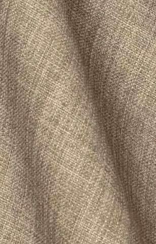 Grof linnen look licht taupe