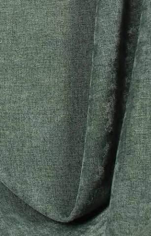 Velours Chenille linnen groengrijs