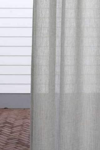 Inbetween linnen look lichtgrijs off white