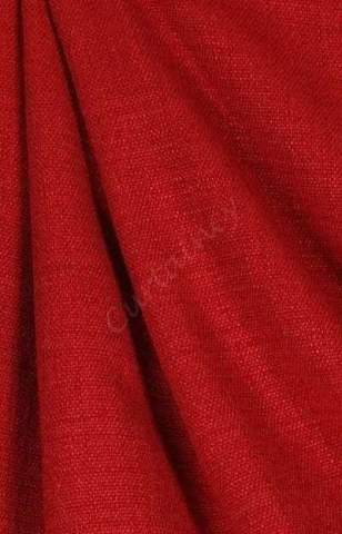 Velours linnen rood